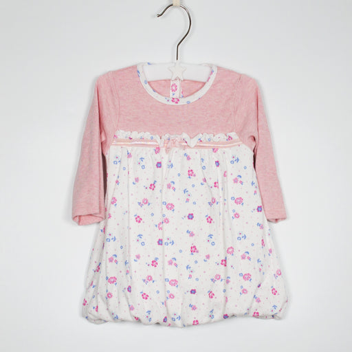Long Sleeve Top - 03-06M Bubble Hem Top