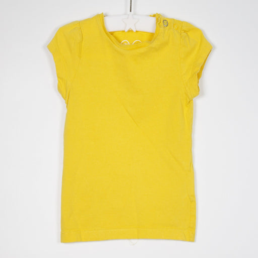 Mothercare - 09-12M Yellow Tee