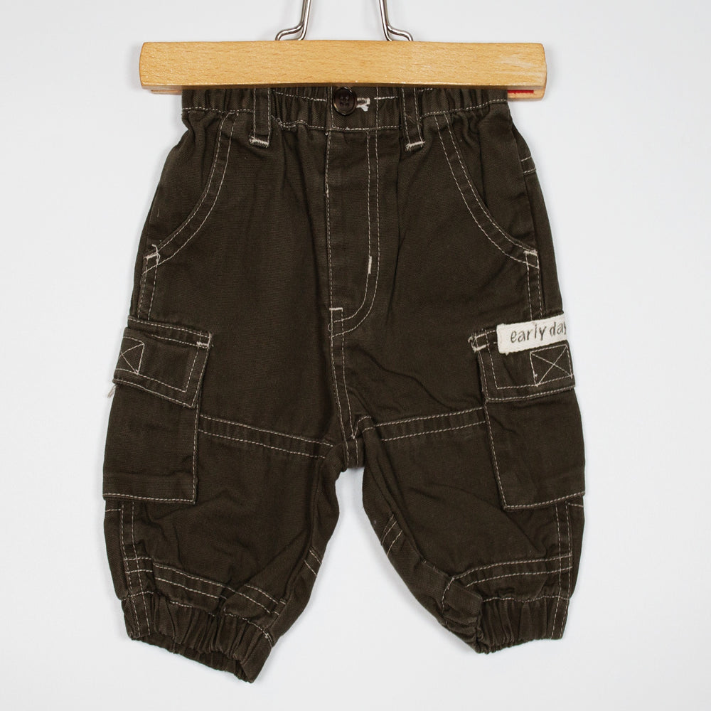 Pants - 00-03M Cotton Cargo Pants