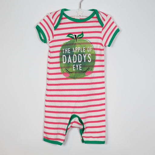 Romper - 03-06M Apple Romper