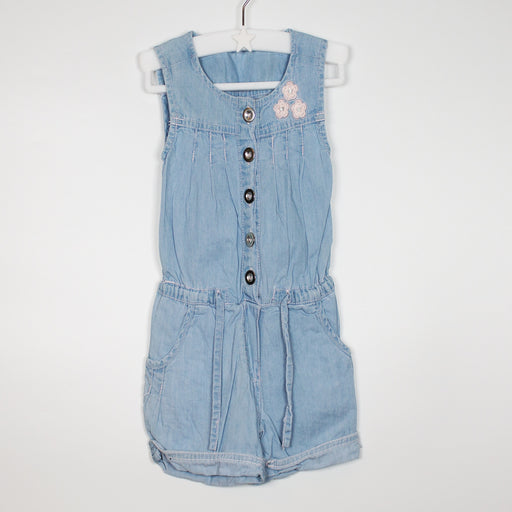 Romper - 09-12M Light Denim Playsuit