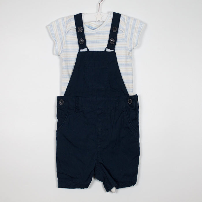 Set - 09-12M Classic Dungaree Set
