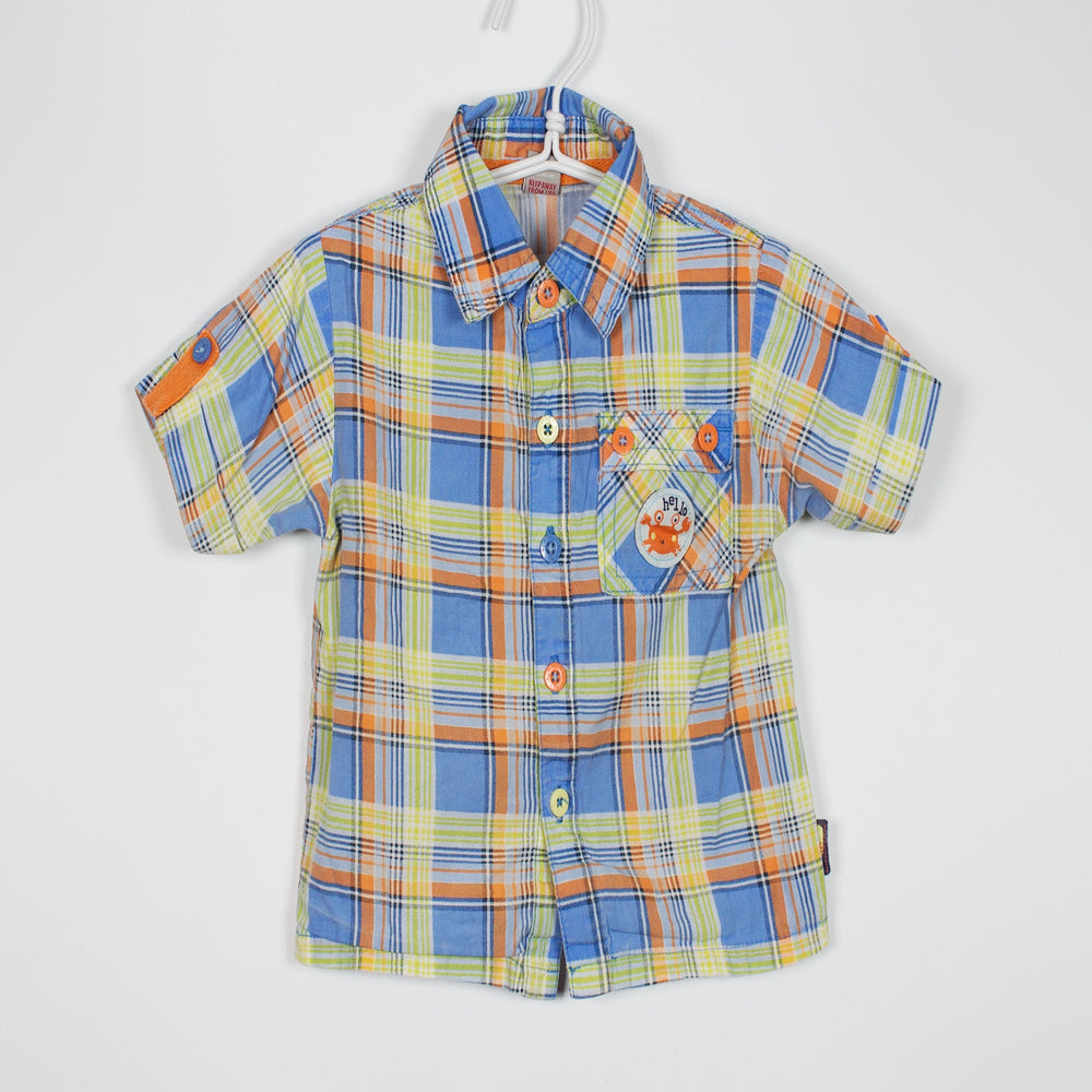 Shirt - 12-18M Crab Patch Shirt