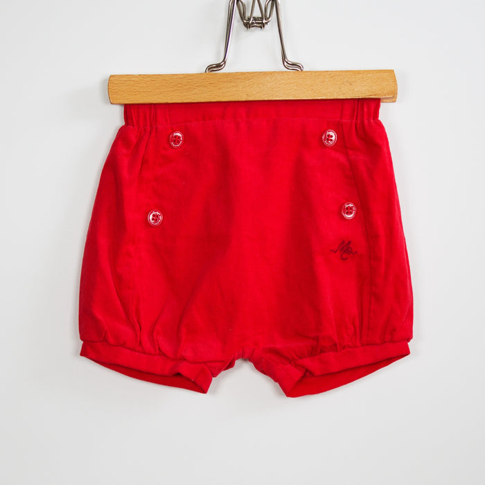 Shorts - 03-06 Lined Red Shorts