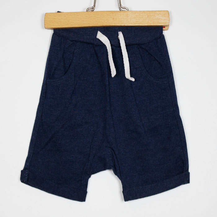Shorts - 09-12M Easy Wear Navy Shorts