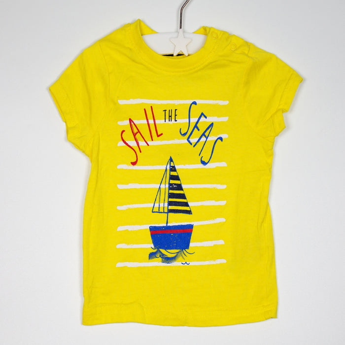 T-shirt - 03-06M  Sail The Seas Tee