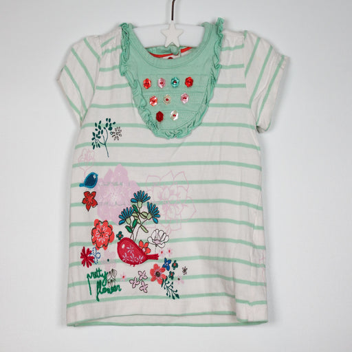 T-shirt - 06-09M Pretty Flower Tee