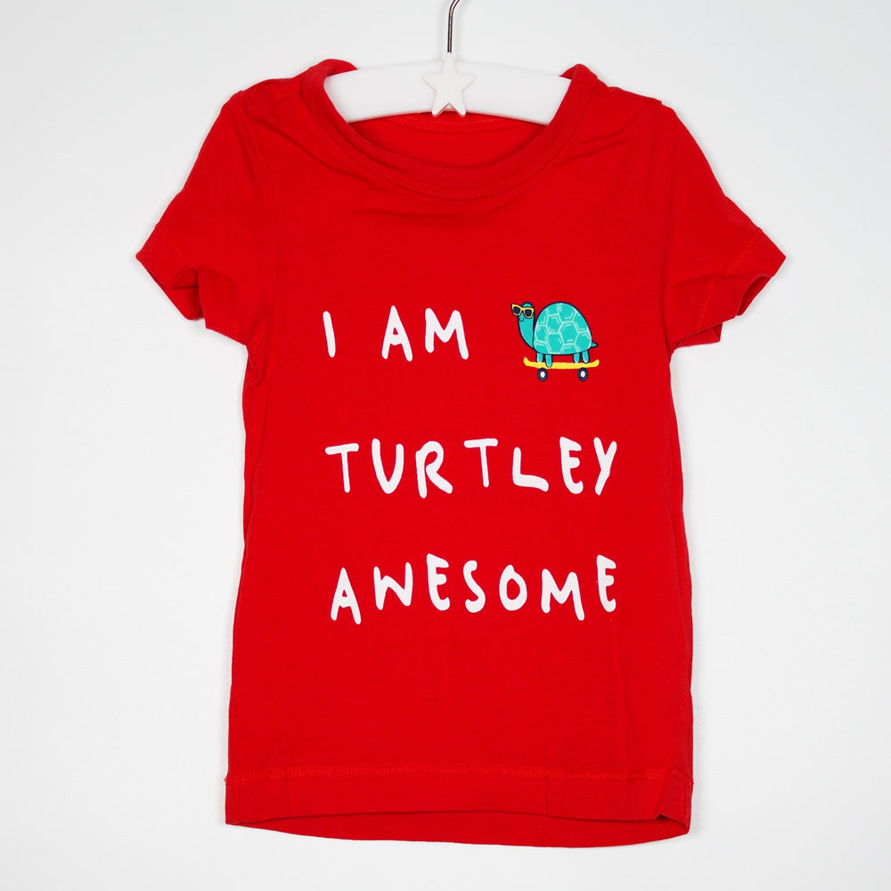T-shirt - 06-09M Turtely Awesome Tee