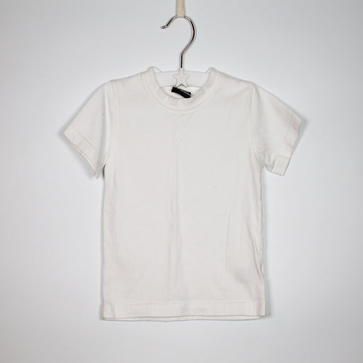 T-shirt - 09-12M Basic White Tee