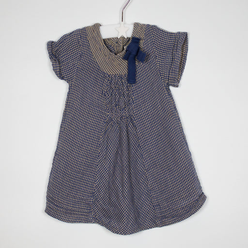 Top - 03-06M Blue Cotton Top