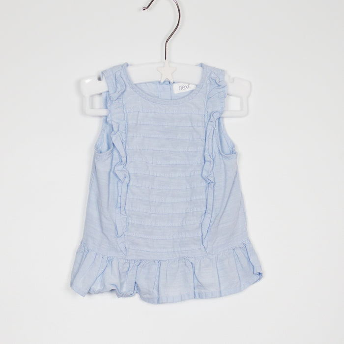 Top - 03-06M Summer Blue Top