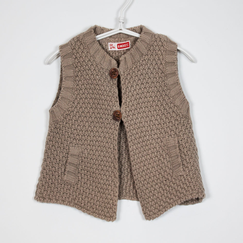 Waist Jacket - 6M Cotton Waist Jacket