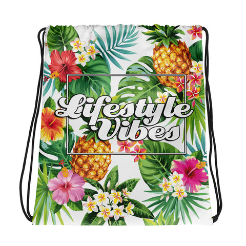 TROPICAL Drawstring bag