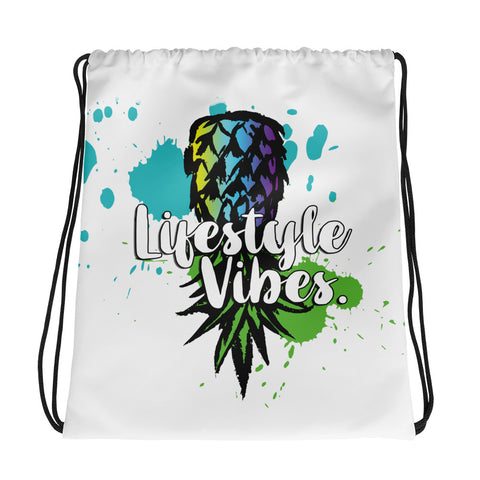 PINEAPPLE SPLASH Drawstring bag