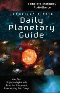 2017 Llewellyn's Daily Planetary Guide