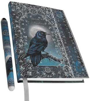 Book Of Shadows W Pen Journal