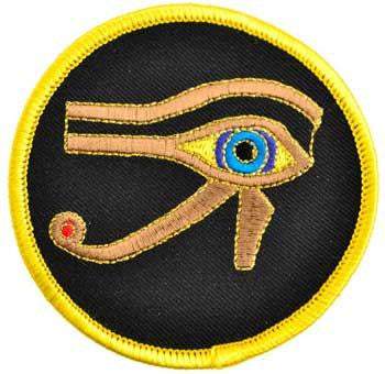 "3"" Eye Of Horus Sew-on Patch"