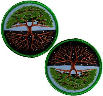 "3"" Tree Of Life Iron-on Patch"