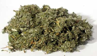 1 Lb Five Finger Grass Cut, part of the Herbs collection @ Wicca.io