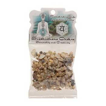 1.2oz Svadhisthana Chakra Resin, part of the Incense Incense Burners And Charcoal collection @ Wicca.io