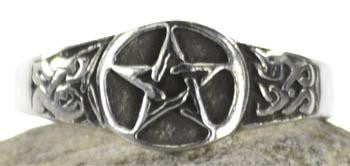 Pentacle Ring, Size 12
