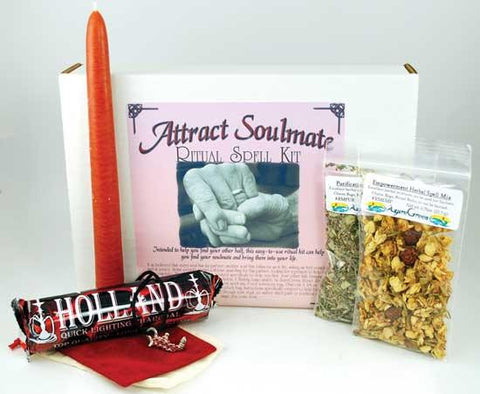 Attract Soulmate Boxed Ritual Kit