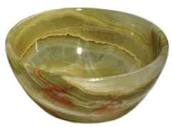 "3"" Green Onyx Offering Bowl"