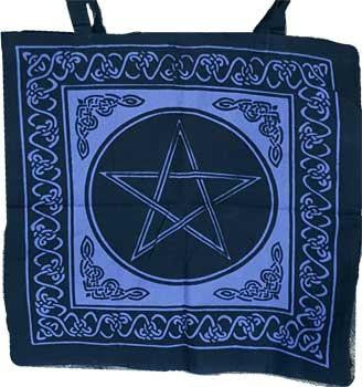 "18"" x 18"" Pentacle Tote Bag"