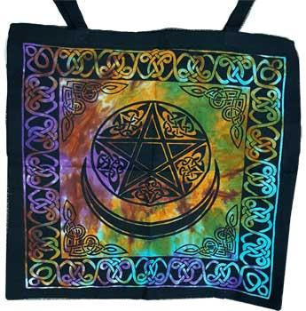 "18"" x 18"" Moon Tote Bag"