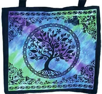 "18"" x 18"" Multi Faith Tree Tote Bag"