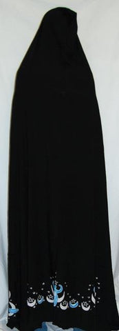 6' Moon Goddess Cape (Black)