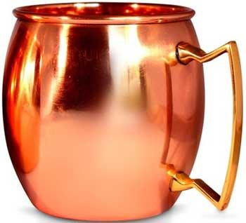 16oz Copper Mug