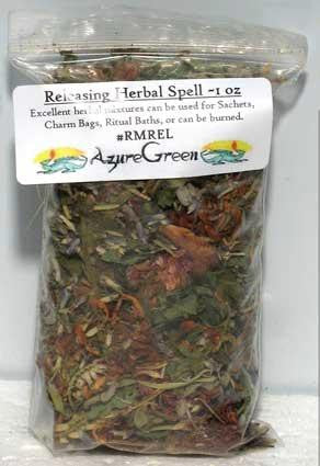 1 Lb Releasing Spell Mix, part of the Ritual Tools And Spell Supplies collection @ Wicca.io
