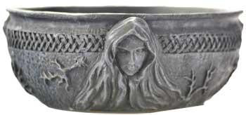 "5.5"" Maiden, Mother, Crone Scrying Bowl"