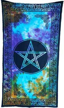 "44"" X 88"" Pentacle Curtain"