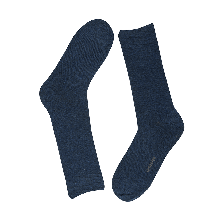 MEN COLOR SOCKS - NAVY BLUE MELANGE