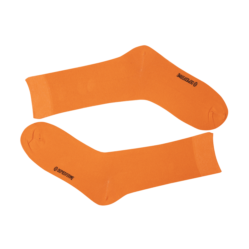 MEN COLOR SOCKS - ORANGE