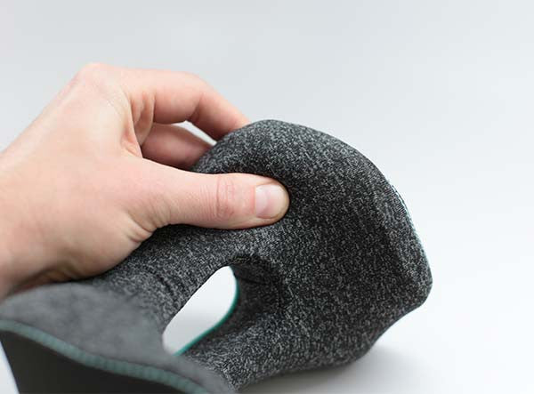 The BullRest Travel Pillow Uses Soft Memory Foam For Superior Comfort