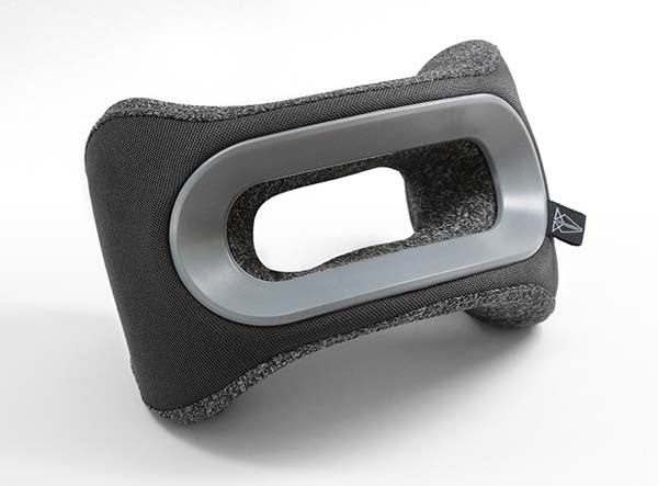 The Gray BullRest Memory Foam Travel Pillow