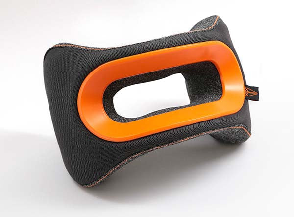 The Orange BullRest Memory Foam Travel Pillow