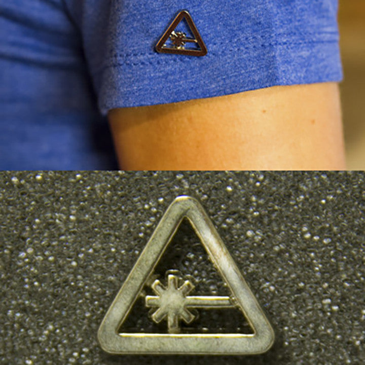 Nerdist Metal Pin