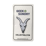 Sagas of Sundry Dread Goatman Enamel Pin
