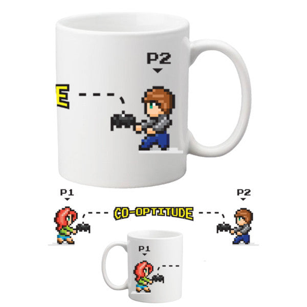 Geek and Sundry Co-Optitude Coffee Mug