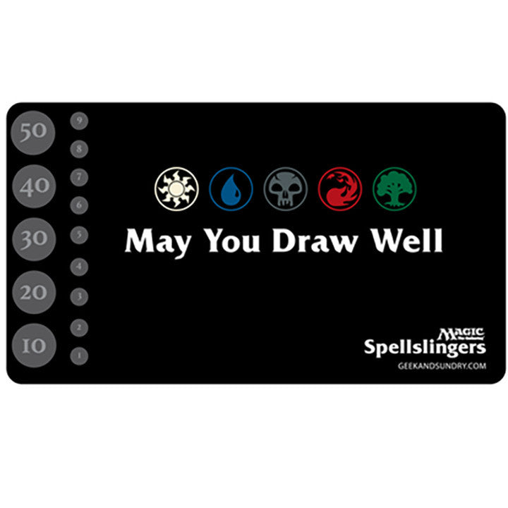 Spellslingers May You Draw Well Play Mat