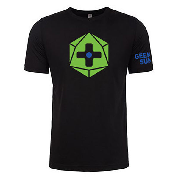 Geek and Sundry logo black t-shirt