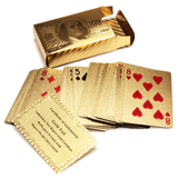 Gold Foil Poker Cards