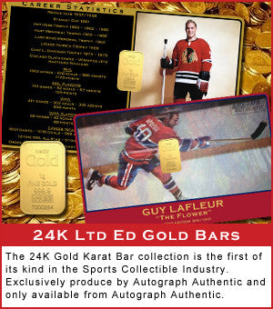 24K Ltd Ed Gold Bars