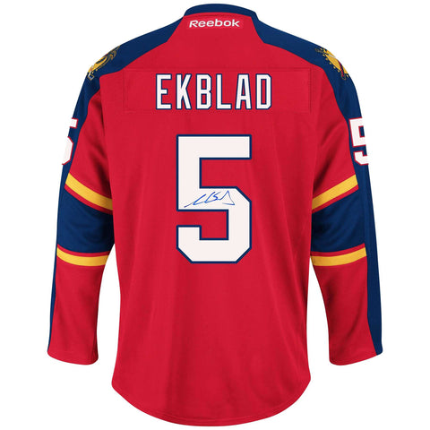 Aaron Ekblad Signed Florida Panthers Jersey-AAFC20462