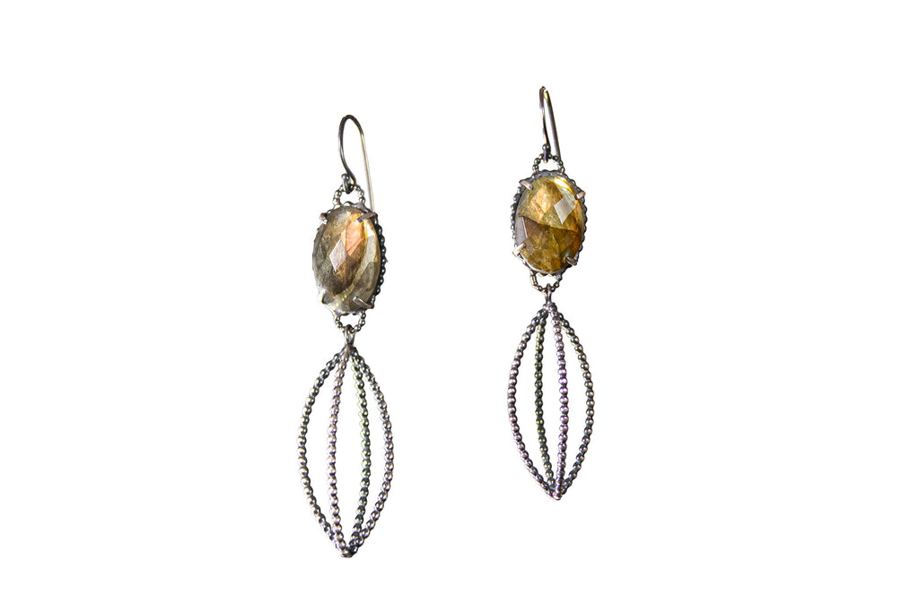Labradorite Celebration Earrings
