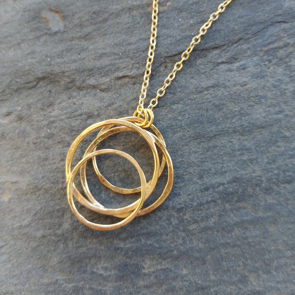18k Gold Vermeil Galaxy Necklace